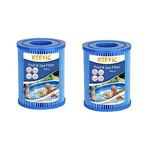 Kseyic Antibacterial Filtro per Piscina per Intex Tipo H, Filtro per Piscina per Intex Tipo H, Cartucce Filtranti per Whirlpool
