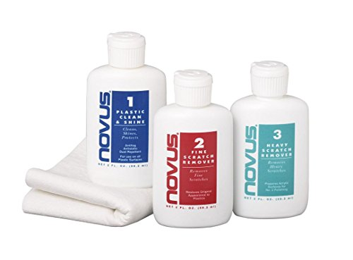 Novus Cleaning and Scratch Remover Kit with Cleaning Cloth