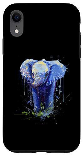 iPhone XR Elephant Artwork - Big Mammal Elephant Artwork Gift Case