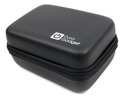 DURAGADGET Custodia Rigida per Action Camera OTHA 4K 1080P | WiMius Q4 | EletecPro | SMbox | GITUP GIT2P PRO | Topjoy F60 con Spazio per Accessori - con Mini Moschettone - Molto Resistente