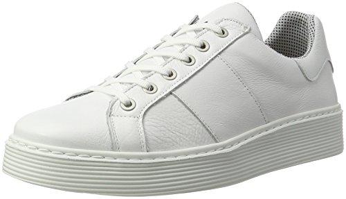 Marc Shoes Imola, Zapatillas para Hombre, Weiß (Weiß-205), 45 EU