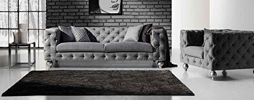 JVmoebel - Set divano Chesterfield, 252 cm + poltrona divano di design
