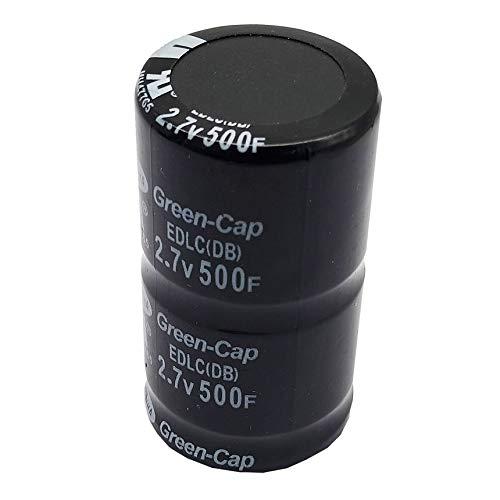 Preisvergleich Produktbild 1 / 2 / 6 / 10x Schwarz 2.7V Farad Kondensator 500F 35x60mm Super 2.7V 500F Kondensator Super Kondensator 2.7V 500F Ultra Kondensator-Schwarz