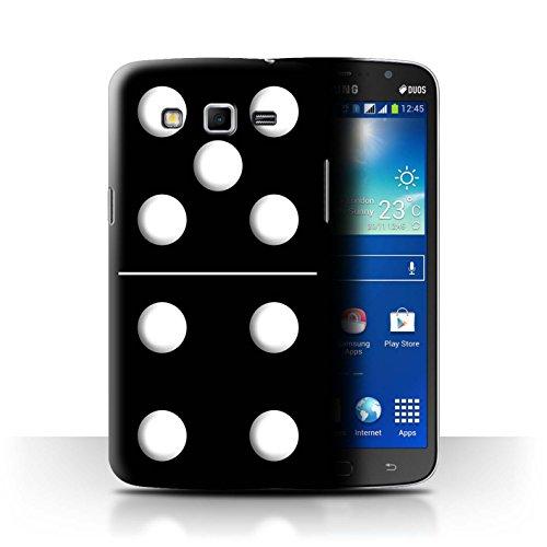 Var voor SGMN-CC Domino's/Dominos Samsung Galaxy Mega 5.8 Zwart Tegel 5/4