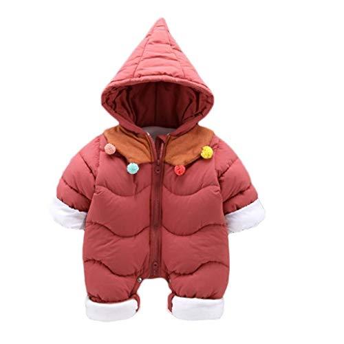 RJFAB Pasgeboren baby kleding winter katoenen jas plus fluwelen mannelijke en vrouwelijke baby jumpsuit uit de winter