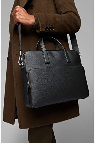 BOSS - Crosstown_s Doc Case, Bolsas para portátil Hombre, Negro (Black), 8.5x30x38 cm (B x H T) 2