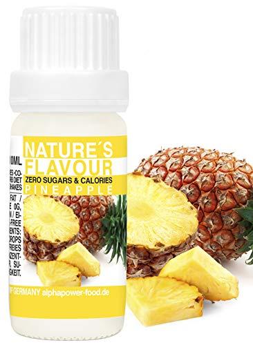Flavour Drops Ananas Flavdrops I Natürliches Flave Aroma I Geschmacks Tropfen I Backaroma & Lebensmittelaroma, Zuckerfrei als liquid Konzentrat