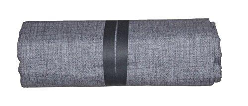 ba Grandfoulard Tagesdecke für Sofas Einfarbig 240 x 260 cm Farbe Grau