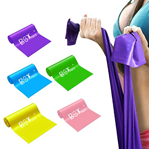 5-Pack Resistance Exercise Bands $7.00 (50% OFF Coupon)
