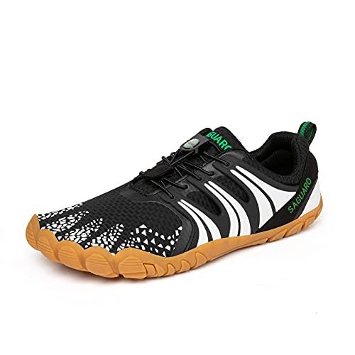 SAGUARO Zapatos de Agua para Mujer Verano Outdoor Secado Surf Piscina Playa Cycling Deportes Acuáticos Calzado de Natación Escarpines
