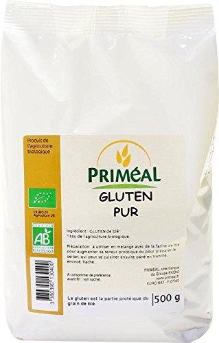 Priméal - BIO - Gluten Pur 500 g 1 Unité