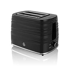 Swan, 2 Slice Symphony Toaster, High Gloss and Matt Finish, 930 Watt