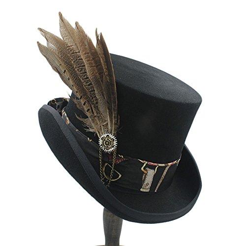 XYAL-Hats Xingyue Aile Sombrero de copa y gorras de vaquero, para las