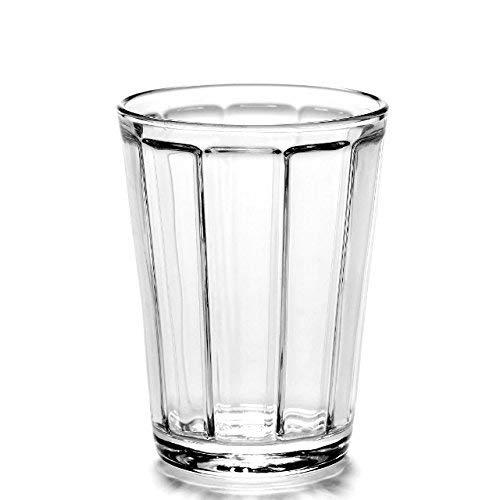 Serax Surface - Bicchiere per Acqua, in Vetro Trasparente, Taglia Unica