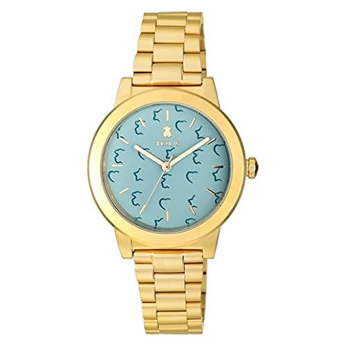 Reloj Tous Acero Dorado Esfera Decorada 100350635