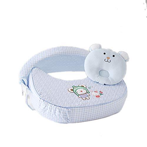 Baby GOUO@ Coussin d'allaitement Allaitement Allaitement Oreiller Protection Taille Multifonction Hug Support Nouveau-né Allaitement Pad