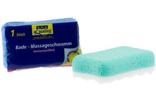 Preisvergleich Produktbild aqualine 1082 Bade- & Massageschwamm 15x9x5cm (Z42)