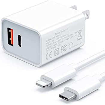 Powlaken 18W USB-C Power Delivery QC 3.0 Fast Charger