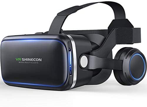 Top 10 Best vr shinecon virtual reality headset 3d glasses
