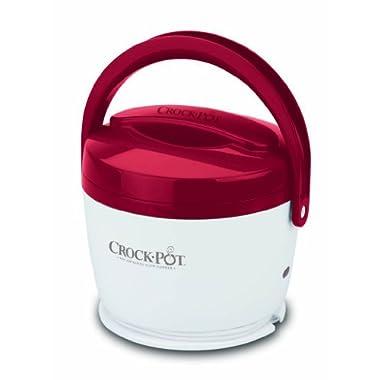 Crock-Pot 20-Ounce Lunch Crock Food Warmer, Red