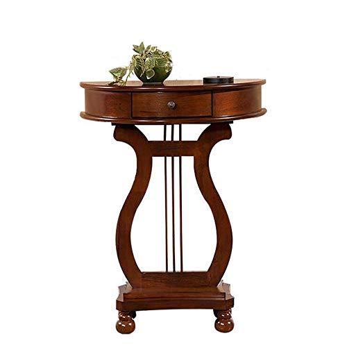 XINTONGSPP Der Tisch ist gegen die Wand Porch Kabinett, das Wohnzimmer Porch Tisch // Drawer europäischen Stil dekorative Schrank/Wand-Porch Tisch, 64 * 77 cm
