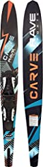 RESPONSIVE: The new RAVE Sports Carve Slalom Water Ski is designed for responsive performance for beginner through advanced water skiers. LIGHTWEIGHT: Constructed of fiberglass with carbon fiber reinforcements, the Carve slalom ski is very lightweigh...