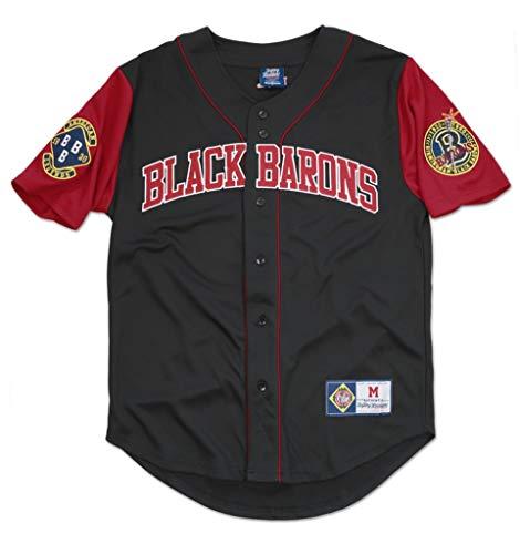 Big Boy Headgear Burmingham Black Barons Legacy Jersey 2XL Black