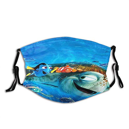 Mundschutz Face Cover Finding Dory Nemo Wallpaper Reusable Windproof Mouth Cover Camping Motorcycle Running for Teen Men Women