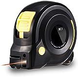 HOLULO Cinta Métrica Láser,131Ft Medidor de distancia láser digital con pantalla LCD Telemetro Laser para medir la longitud del arco, Distancia,Zona,Volumen