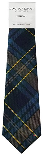 I Luv Ltd Gents Neck Tie Eildon Modern Tartan Lightweight Scottish Clan Tie