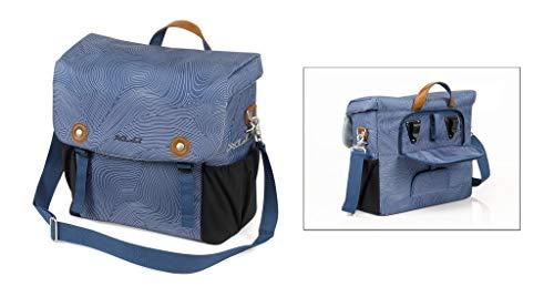 XLC Unisex - volwassenen BA-S87 schoudertas, blauw, 140x320x360