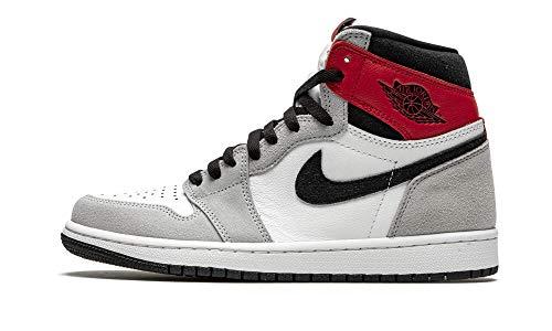 Nike Sneaker Uomo, Bianco/Nero-luce Grigio Fumo - v, 48.5 EU