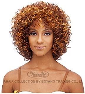 VANESSA Synthetic Full Wig - KOBY (#1B - Off Black)