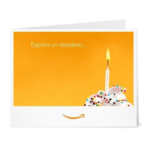 Buono Regalo Amazon.it - Stampa - Esprimi un desiderio