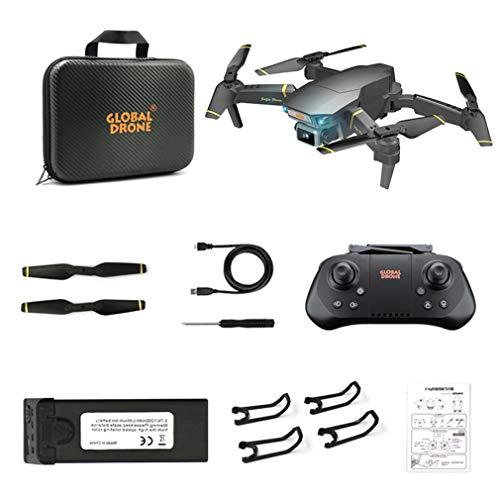 Courage Ouyang - Mando a distancia para avión, dron de plástico HD, duradero y práctico, cámara de 90 grados, color negro