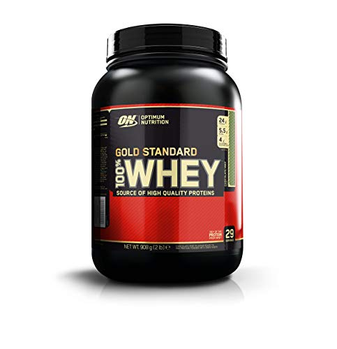 Optimum Nutrition Nutrición Óptima - Gold Standard 100% Whey Chocolate Menta 2 Libras 900 g