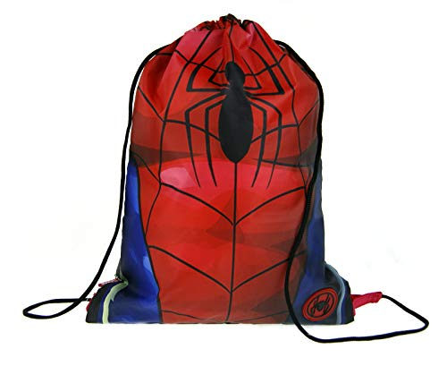 Marvel Spiderman Boys Drawstring Gym Bag Tors