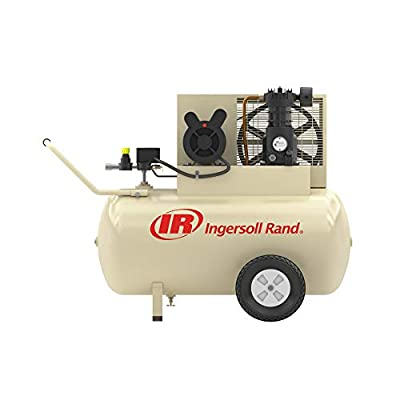 Ingersoll Rand + Patriotic SS3F2-GM 2HP, Single Stage Air Compressor, 230 Volt, Single Stage