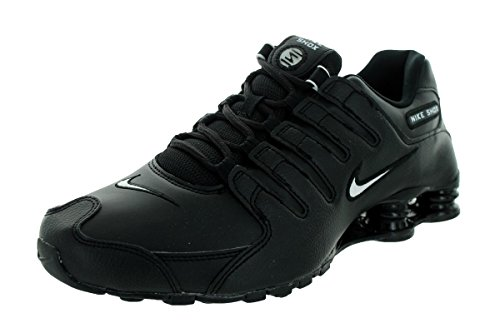 Nike Men's Shox NZ Running Shoe Black/White/Black - 10 D(M) US