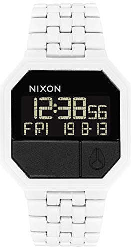Nixon re-Run Reloj para Hombre Digital con Brazalete de Acero Inoxidable A158126