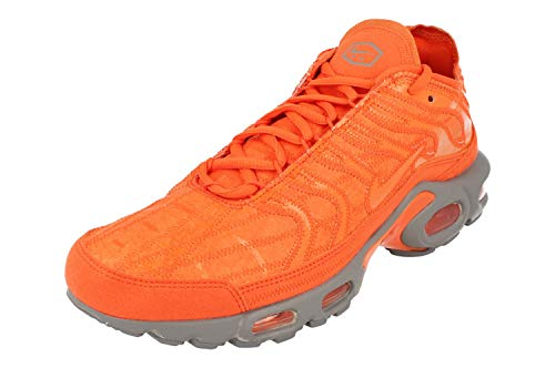 Nike Air MAX Plus Decon Hombre Running Trainers CD0882 Sneakers Zapatos (UK 8 US 9 EU 42.5, Electro Orange 800)