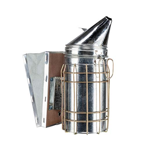 Excellent Bee Smokers Silver - Bee Keeping Supplies Necessary for Beekeepers, Quality Material