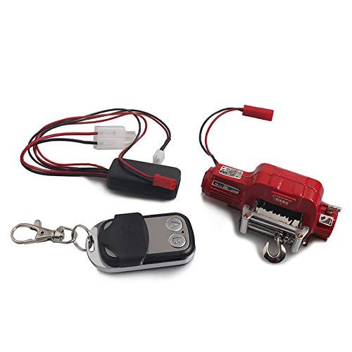 DishyKooker Winch Automático Receptor de Control Remoto Inalámbrico para 1/10 RC Rastreador...