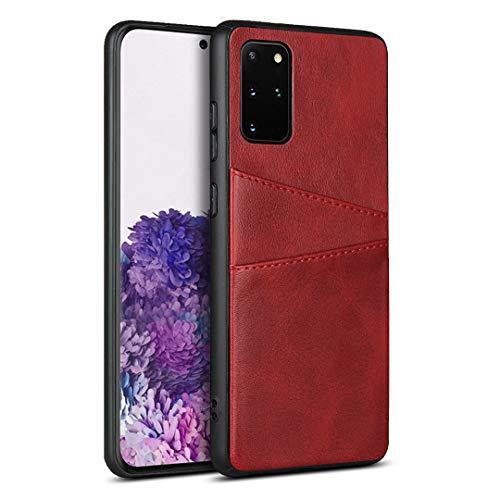 Schutzhülle aus PU-Leder für Samsung Galaxy S20 +/S20 Plus, Rot