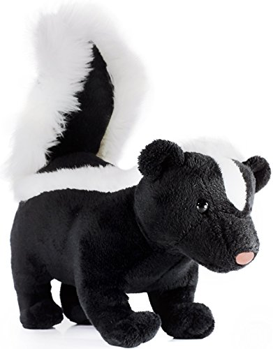 VIAHART Seymour The Skunk   8 Inch Long (Tail Measurement not Included!) Stuffed Animal Plush   by Tiger Tale Toys -  721107392774