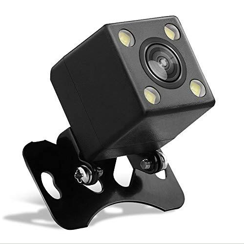 iFreGo Cámara de Marcha atrás HD Auto Wired Universal 170 ° Cámara con Lente Gran Angular Cámara de Respaldo LED Visión Nocturna 100% Impermeable para Ayuda de Marcha atrás y Ayuda de estacionamiento ✅