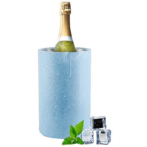 CLJ-LJ Cubos de hielo Ce Bucket Active Wine Cooler Elegante Negro, Familia, Barbacoas, fiestas, bares, clubes, restaurantes y más SYHZHY