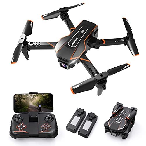 Q10 Mini Drone con Telecamera HD 720P FPV Pieghevole Drone per Bambini e Principianti,RC Droni Quadricottero con Modalità Hovering,3D Flip e Modalità Headless,Regalo Per Ragazzi e Ragazze