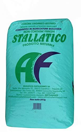 STALLATICO in Pellet kg 25 CONCIME Misto AVICOLO BOVINO Agricoltura Biologico
