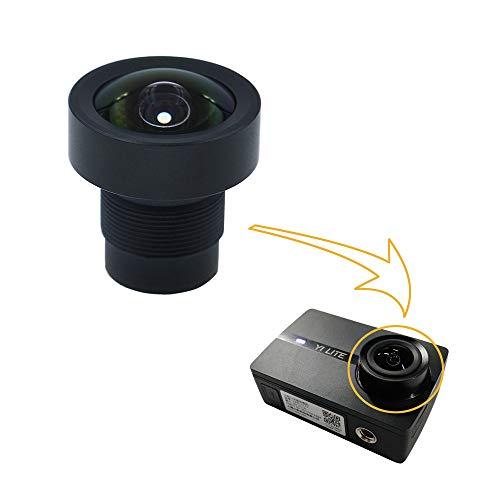 Cvivid Lens 150 Gradi Sensore da 1/2,3 pollici 16MP Lente M12 Obiettivo Ricambio Obiettivo Grandangolare per Xiaomi Yi Lite Action Camera
